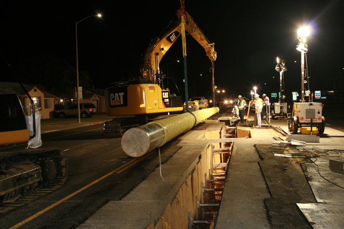 City of West Sacramento – PG&E Gas Pipeline Replacement Project