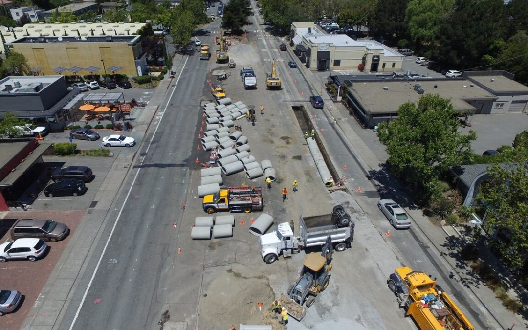 City of Mill Valley Miller Ave. Streetscape and Underground Utility Improvement Project