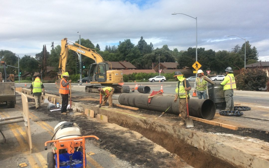 City of Gilroy First Street Waterline Replacement Project