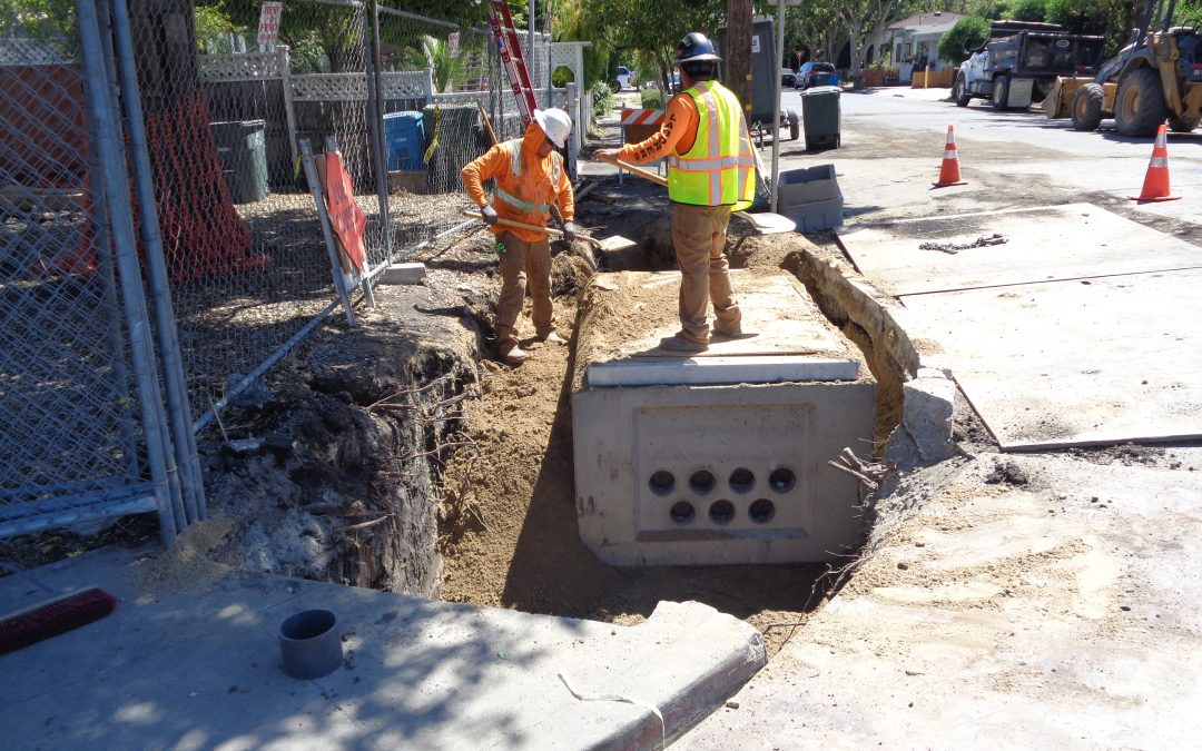 City of Redwood City Middlefield Road Underground Utility Relocation Project Phase 1